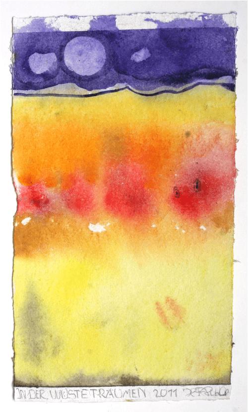 2011 In der Wüste träumen
