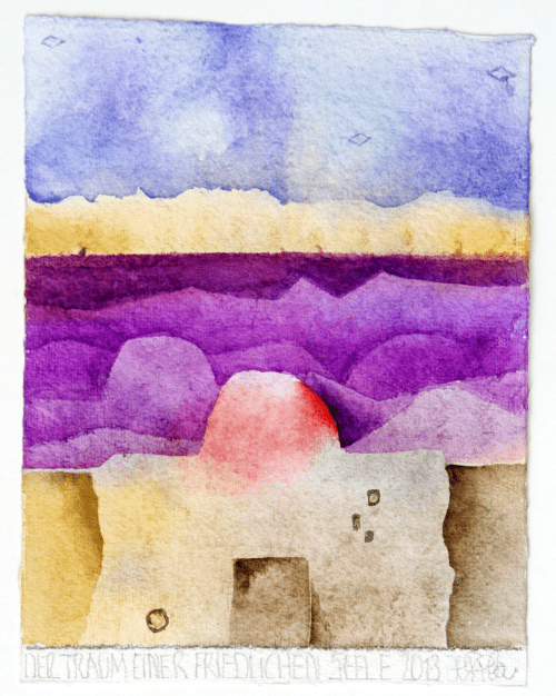 2013 Der Traum einer friedlichen Seele