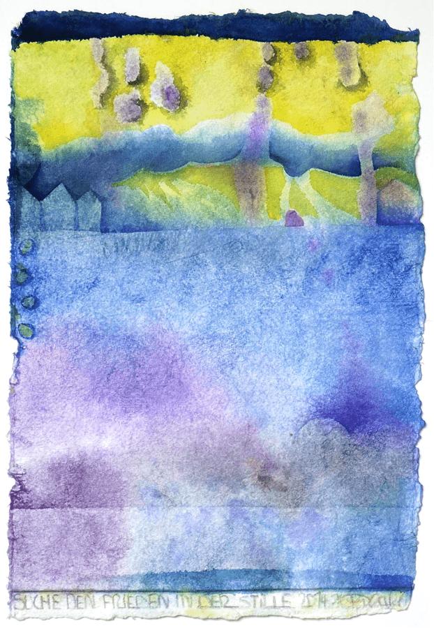 2014 Suche den Frieden in der Stille