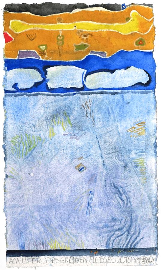 2016 Am Ufer des großen Flusses