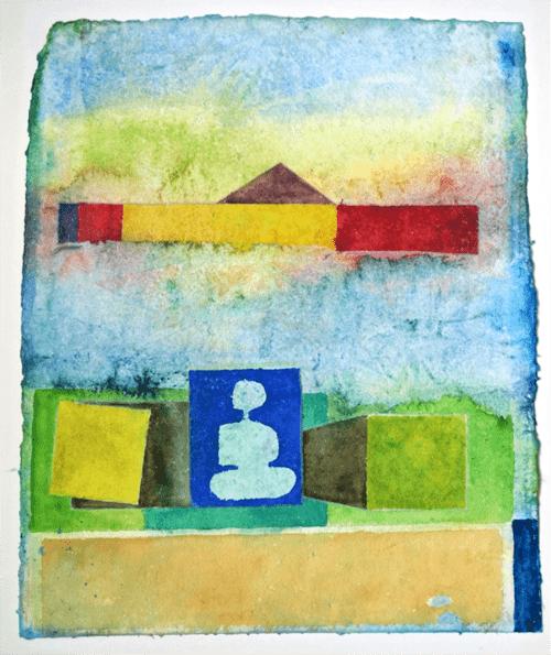 2018 Ein ausgeglichener Tag mit Buddha